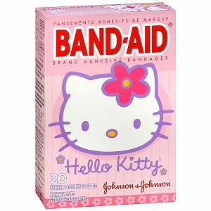 hello kitty band aid